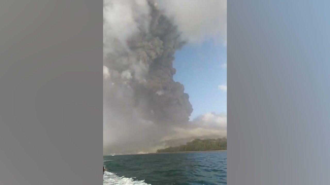 Nueva erupción explosiva del volcán de La Soufrière