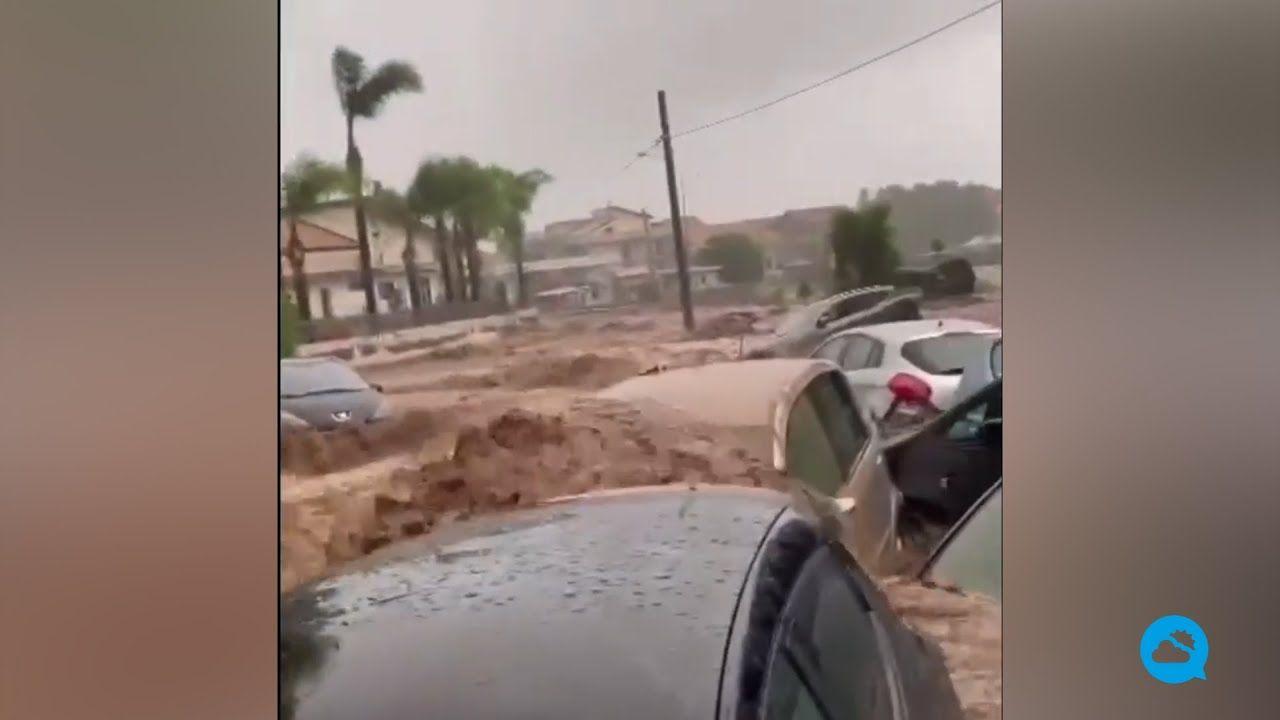 Очень сильные дожди в Центральном Средиземноморье