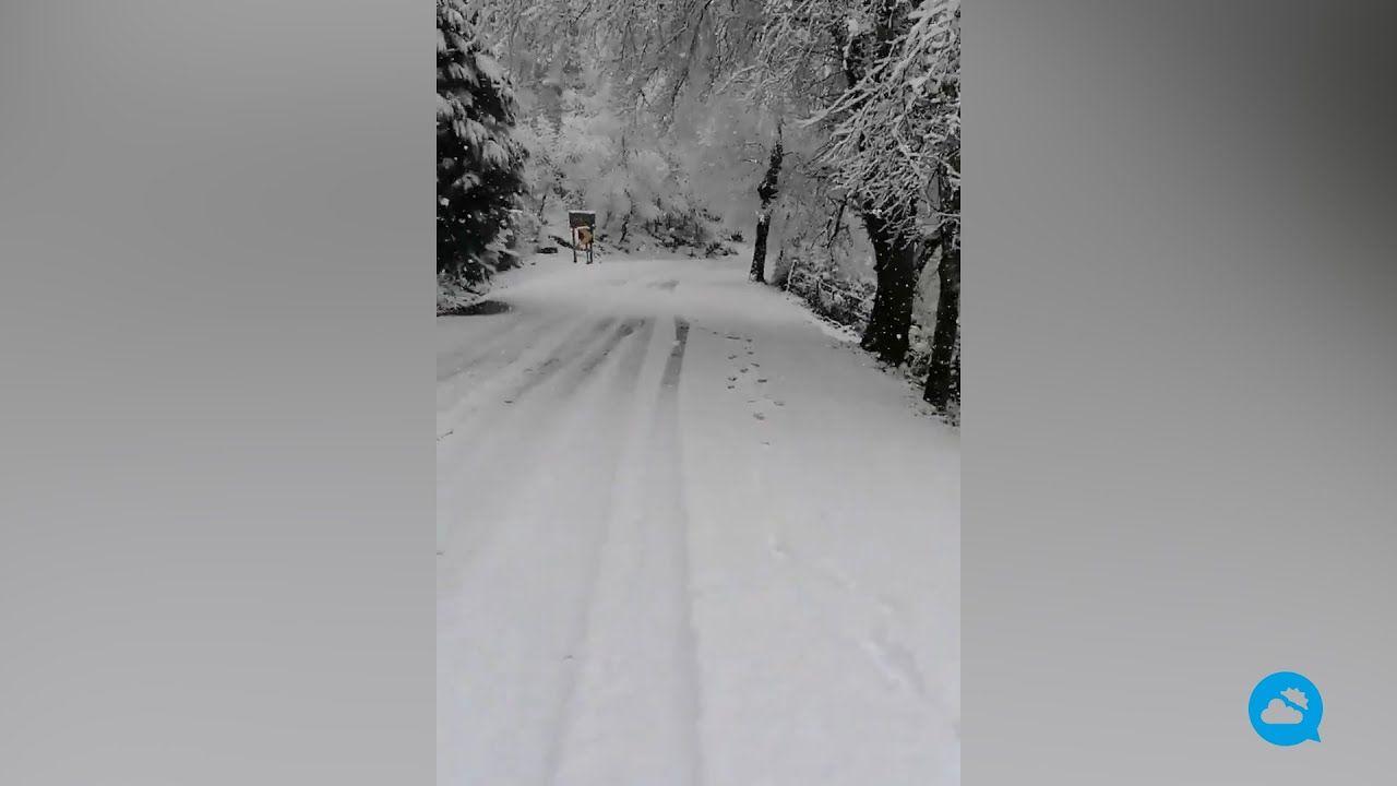Les chutes de neige touchent le sud-ouest de l'Europe