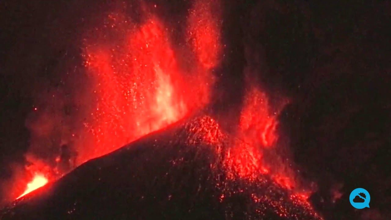 Etna's sixth eruption in eight days