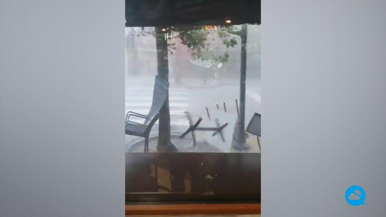 Tempestades muito fortes na Península Ibérica