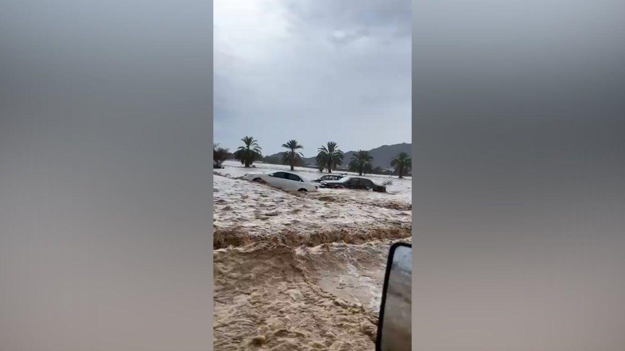 Siguen las inundaciones en algunas regiones de Arabia