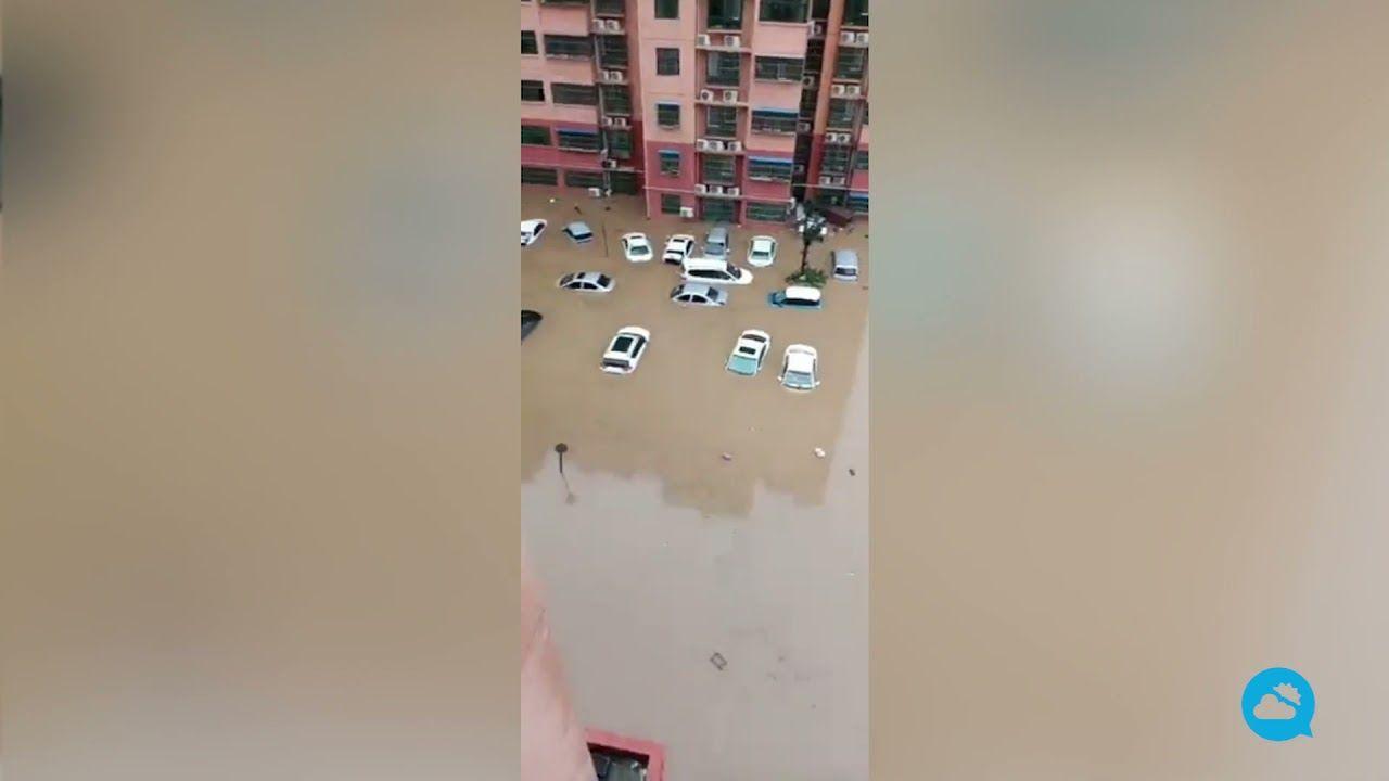 Nuevas inundaciones en China